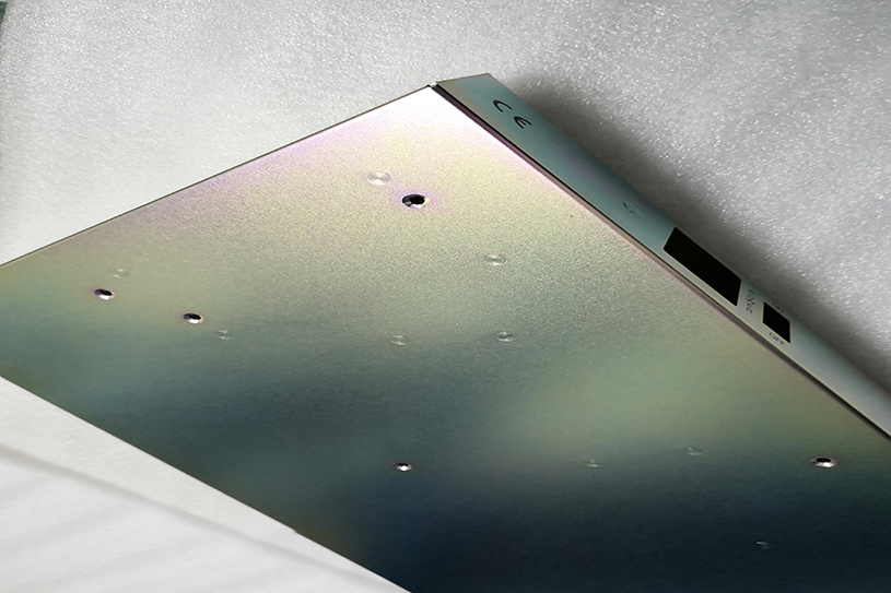electroplated anodized enclosure